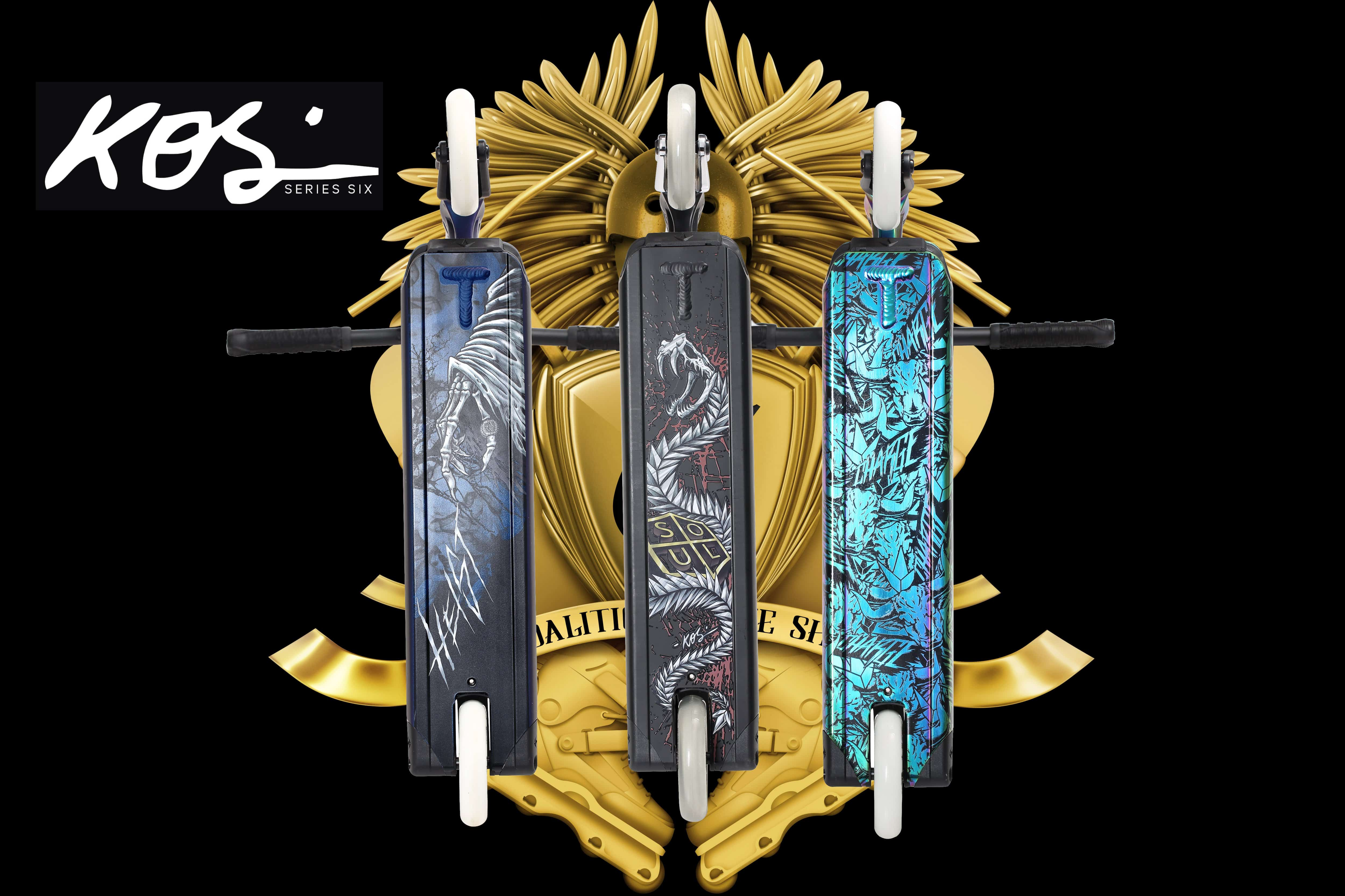 Patinetes Blunt Scooters KOS S6 Soul, Charge y Heist