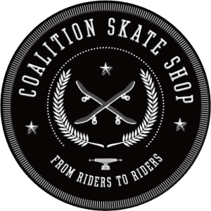 logo coalition skate shop