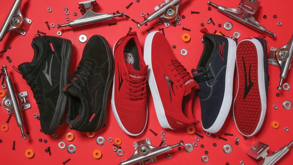 zapatillas de skate lakai x independent