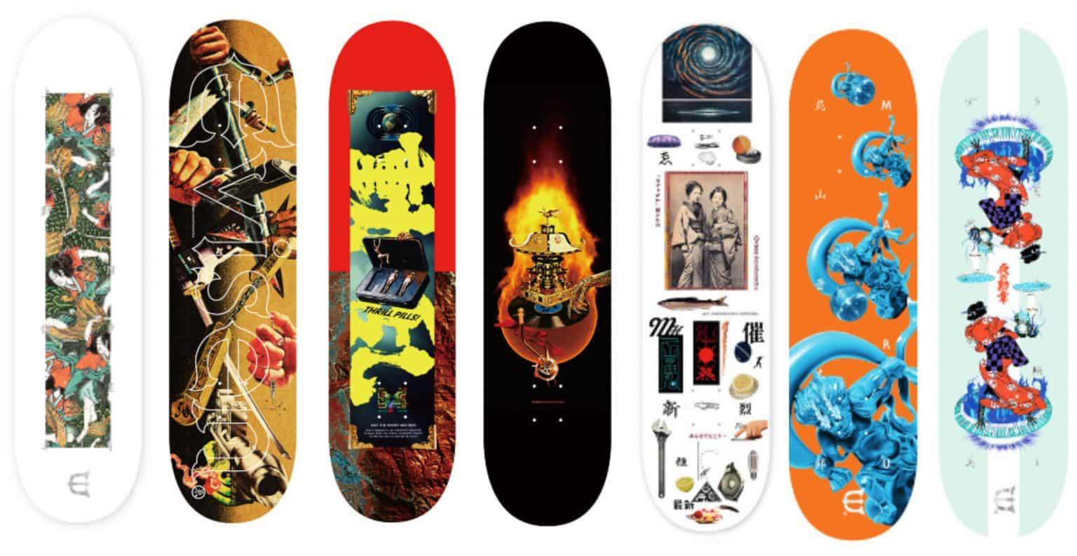 Tablas de skate Evisen skateboards