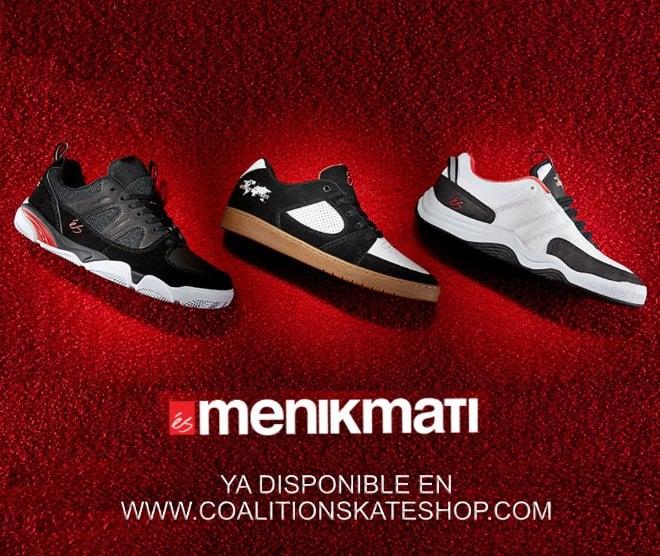 Zapatillas de skate éS x Menikmati